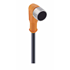K8P10M-SW-M12 = 10 m Kabel inkl. M12 Stecker gewinkelt, 8-polig